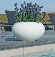 Fiberstone Glossy Planter